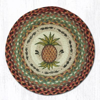 Pineapple 49-CH375 Round Chair Pad 15.5x15.5