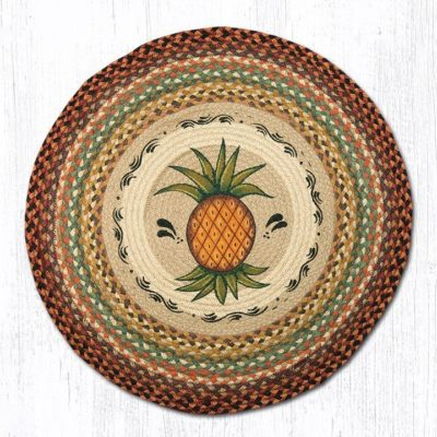 Pineapple 66-375P Round Area Rug 27x27