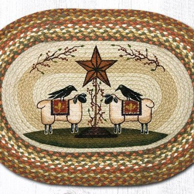 Sheep & Barn Star 65-300SBS Oval 20x30