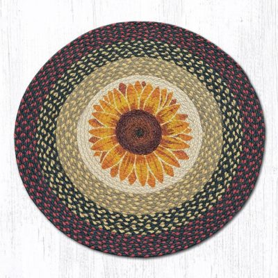 Sunflower 66-919S Round Area Rug 27x27