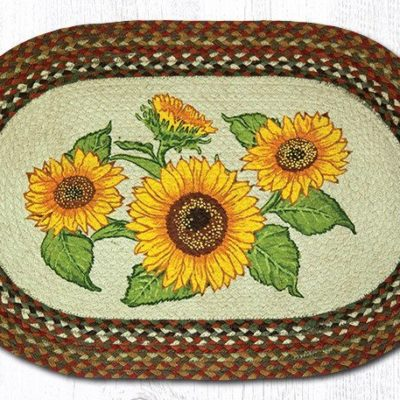 Sunflowers 65-300S Oval 20x30