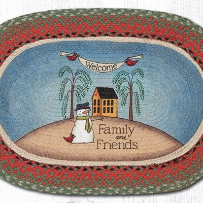 Welcome Family & Friends 65-025WF Oval 20x30