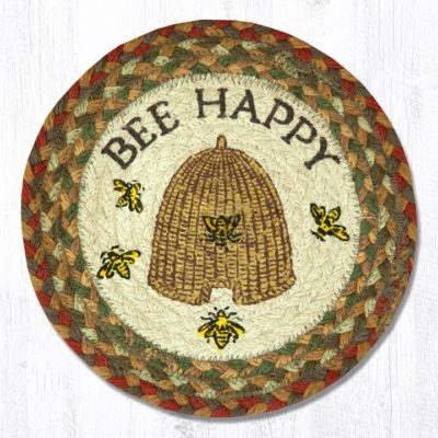 Bee Happy 80-300BH Round Trivet 10x10
