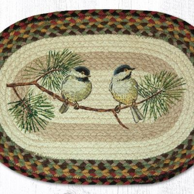 Chickadee 48-081C Oval Placemat 13x19