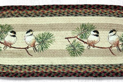Chickadee 68-081C Oval Runner 13x36