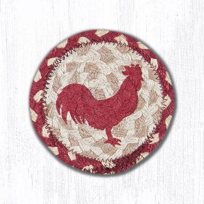 Red Rooster 31-IC519RR Round Individual Coaster 5x5