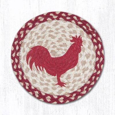 Red Rooster 80-519RR Round Trivet 10x10