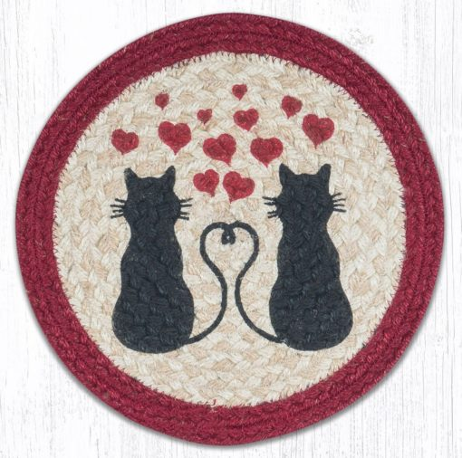 Love Cats 80-576LC Round Trivet 10 x 10
