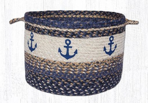 Navy Anchor 38-UBPLG9525A Large Utility Basket 17x11