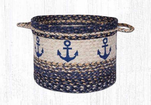 Navy Anchor 38-UBPMD9525A Medium Utility Basket 13x9