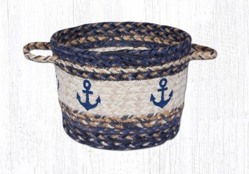 Navy Anchor 38-UBPSM9525A Small Utility Basket 9x7