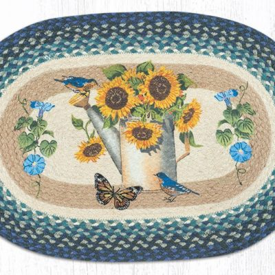 Sunflower Water Can 65-568SWC 20 x 30 Oval